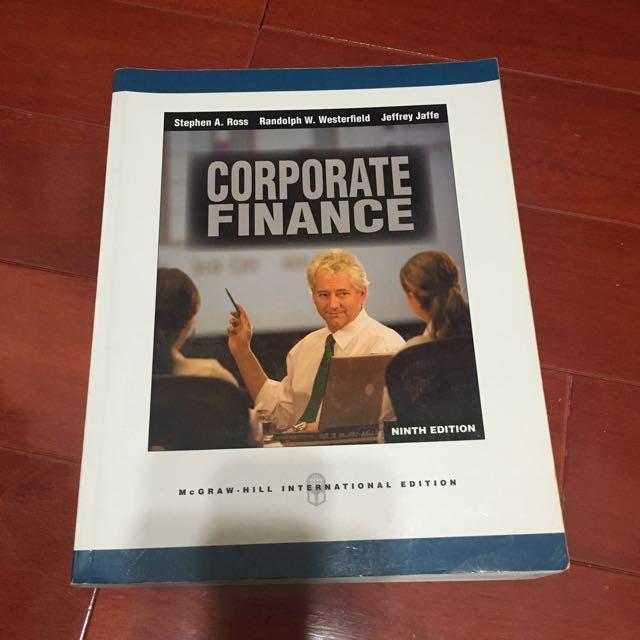 財務管理9版 財管 Corporate Finance #我有課本要賣#教科書出清