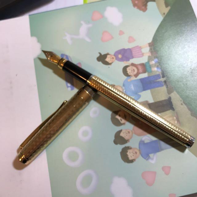 極新白金牌鋼筆