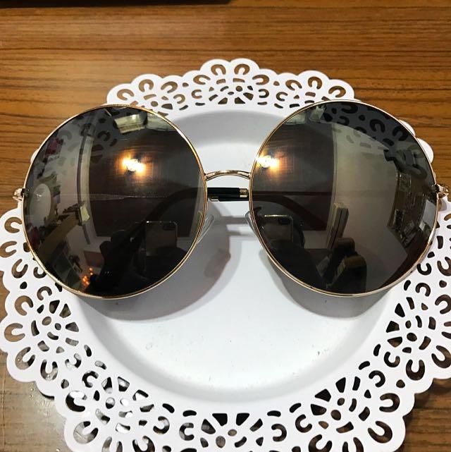 復古圓形太陽眼鏡