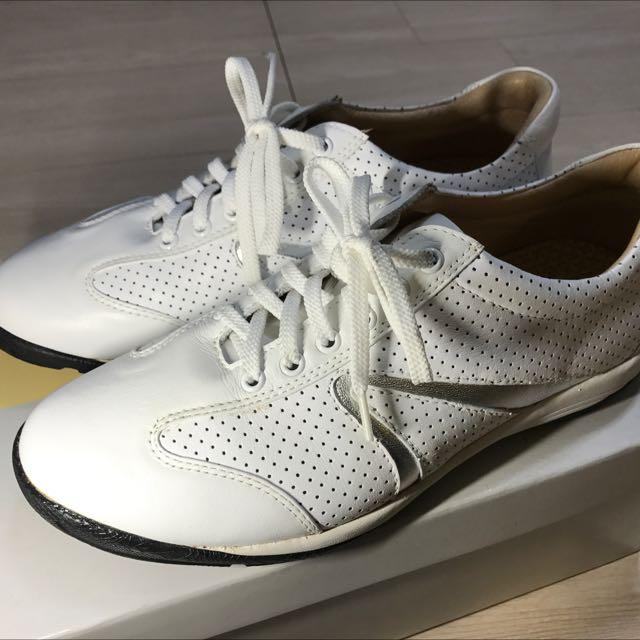 牛皮皮鞋 牛皮+羊皮 白色
