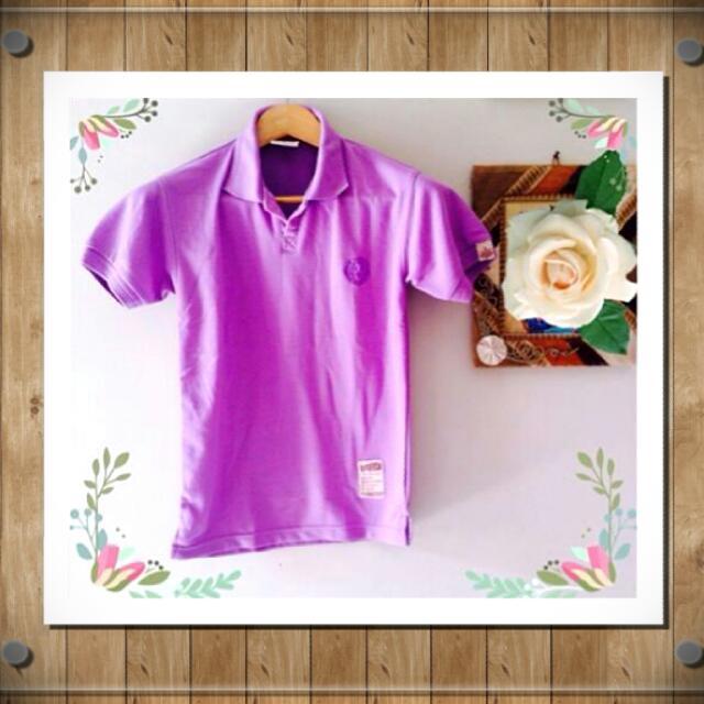 ☑ Polo Shirt Purple  💵 Harga Pas❌No Nego👌Sudah Murah👍Masih Bagus  🙋 Tolong buat tawaran dulu jika Fix Order/Deal  🔎 @handoverme