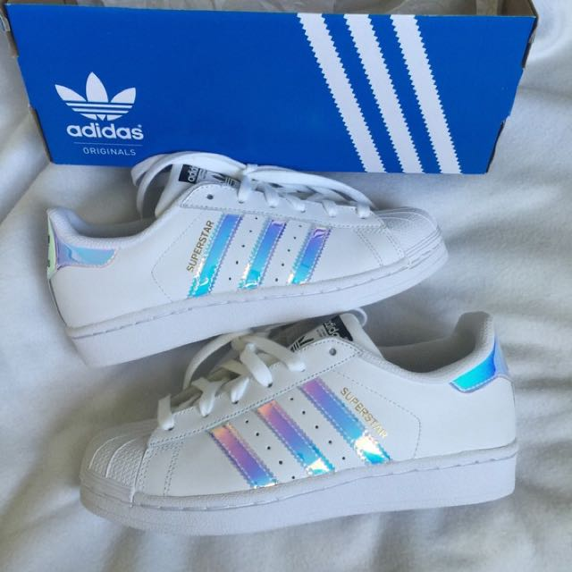 best sneakers 60992 9d7f9 Adidas Superstar Holographic Stripes