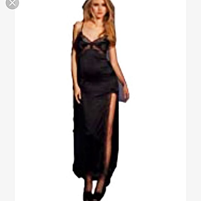 Agent provocateur Black Floor Length Slip