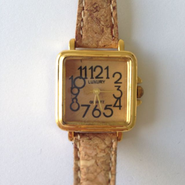 American Apparel Cork Watch