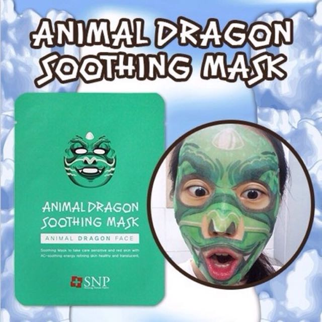 Animal Mask Dragon Shooting / Masker Hewan Animal Naga SNP ORIGINAL