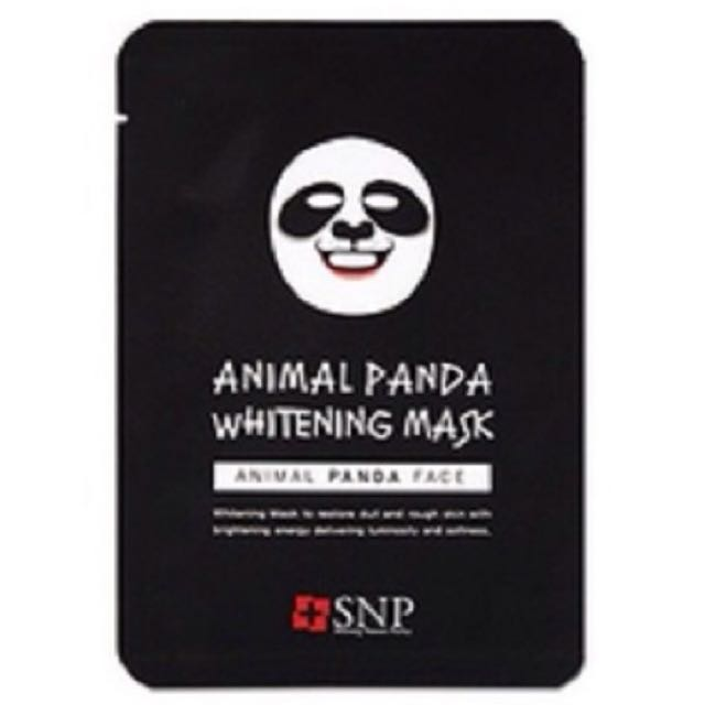 Animal Mask Panda SNP / Masker Animal Hewan Panda Original