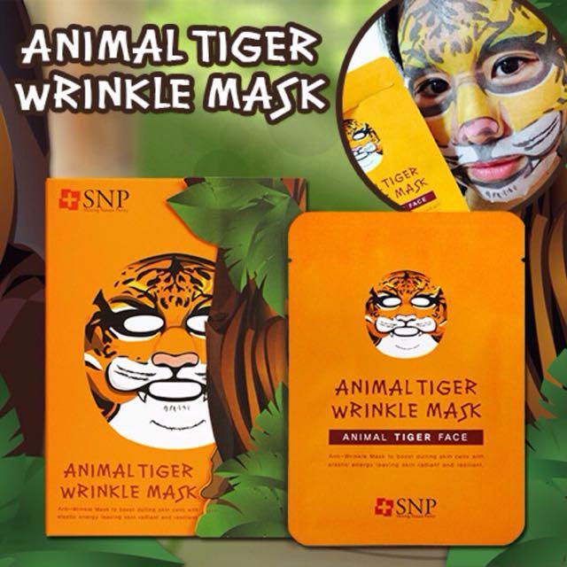 Animal Mask Tiger SNP / Masker Hewan Animal Harimau Original