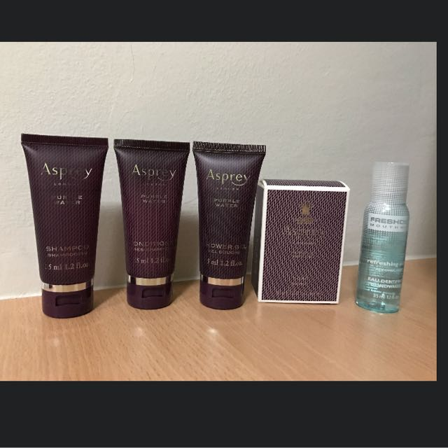 Asprey of London Purple Water Travel Sized Body Care Amenities