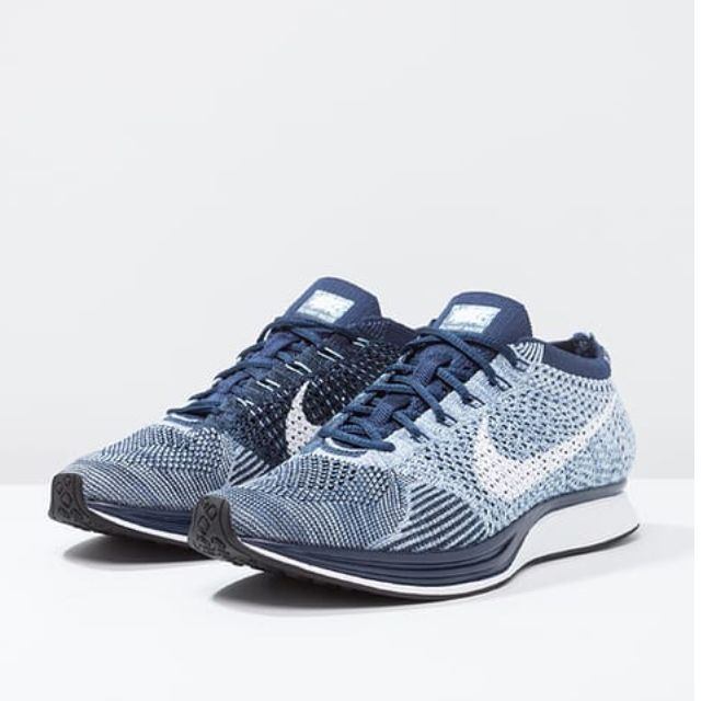 Authentic Nike Flyknit Racer Blue Tint