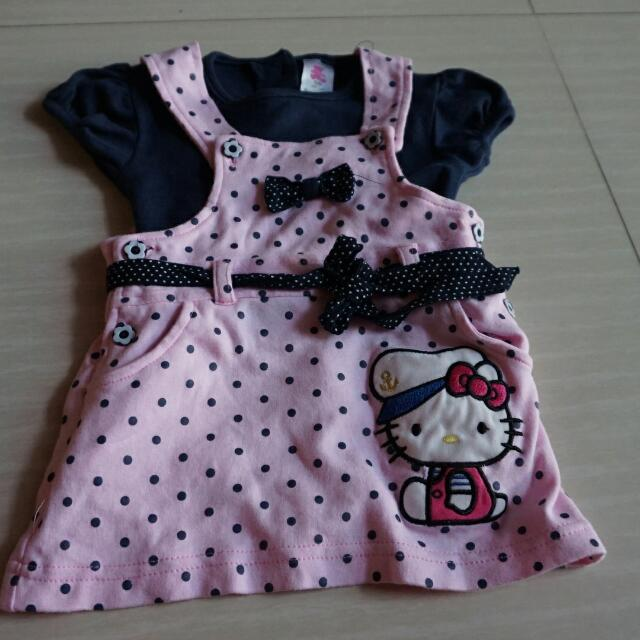 Baju kodok Size. 9-12 Bulan