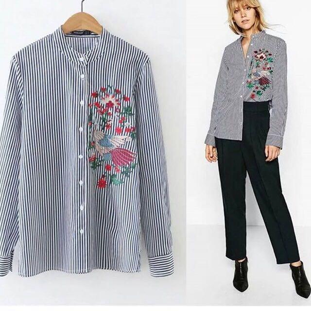 Baju Mirip Zara Shirt Masi Baru Ini