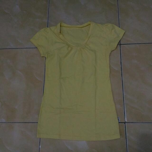 Basic Yellow Tee
