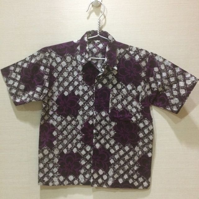 Batik Anak Cowok Babies Kids Boys Apparel On Carousell