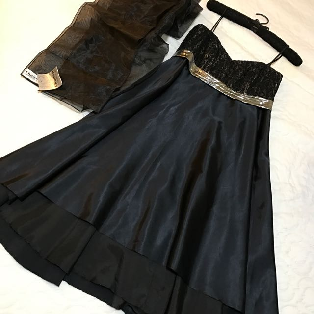 Black Dress For Occasion. By: Michelle V Lim