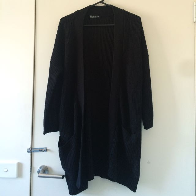 Black Long Knit