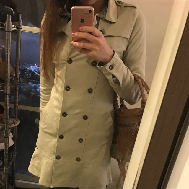 Burberry 正品棉質風衣