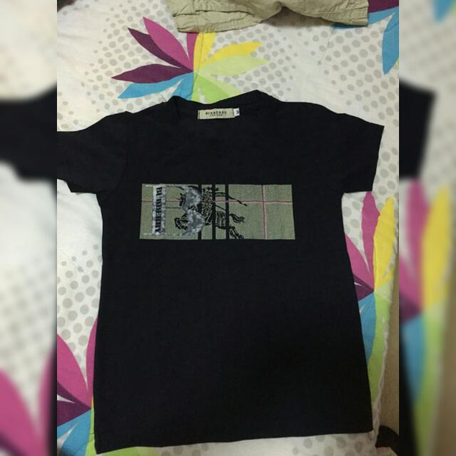 Burberry Navy Blue For Your Lil Boy