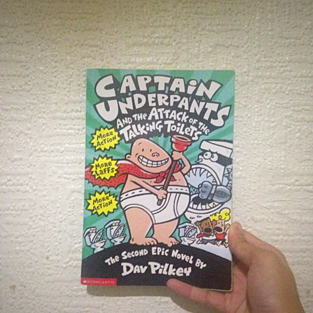 Captain Underpants And The Talking Toilets