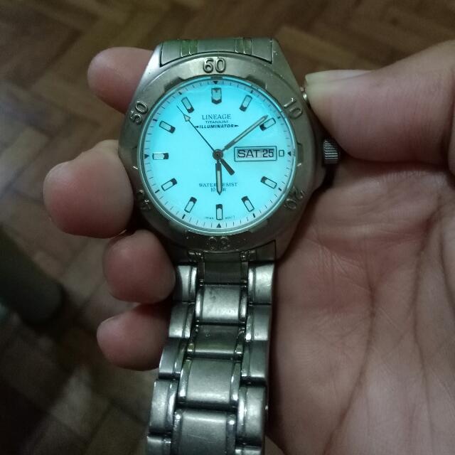 Casio Lineage Watch