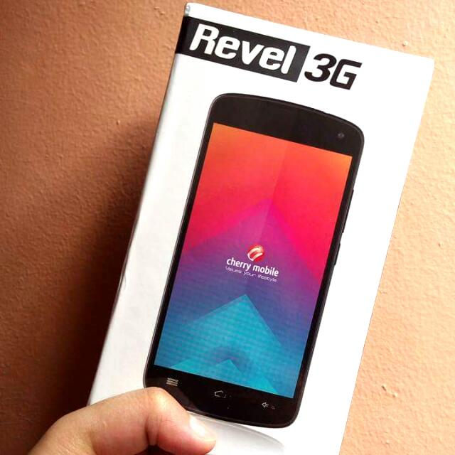 Cherry Mobile Revel 3g