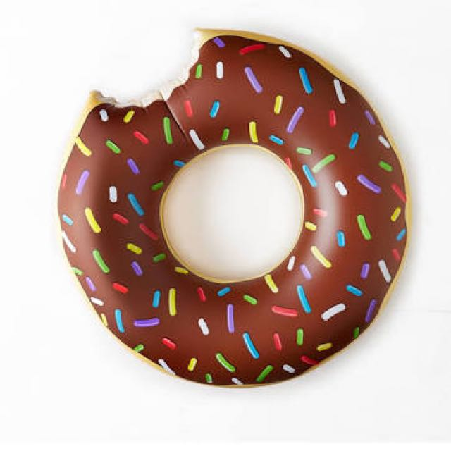 Chocolate Donut Floatie