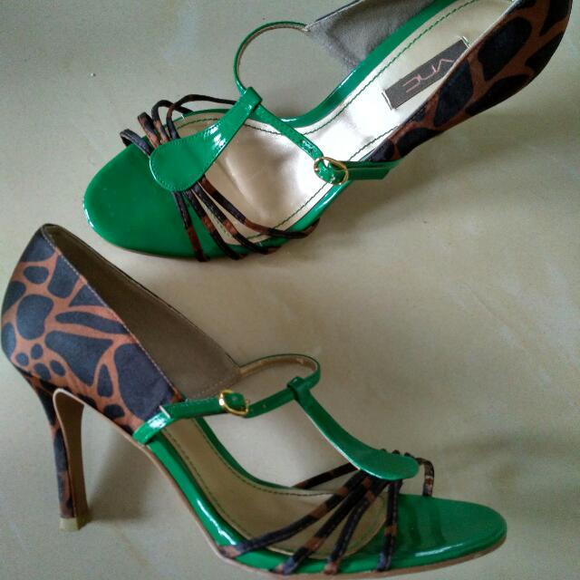VNC - Green Heels Sz 39