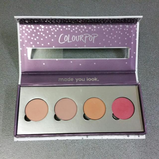 Colourpop Magnetic Palette With Shadows