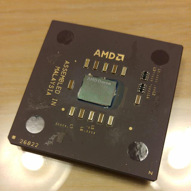 CPU收藏品-AMD Duron