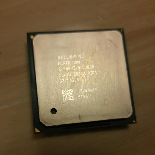 CPU收藏品-Intel Pentium 4