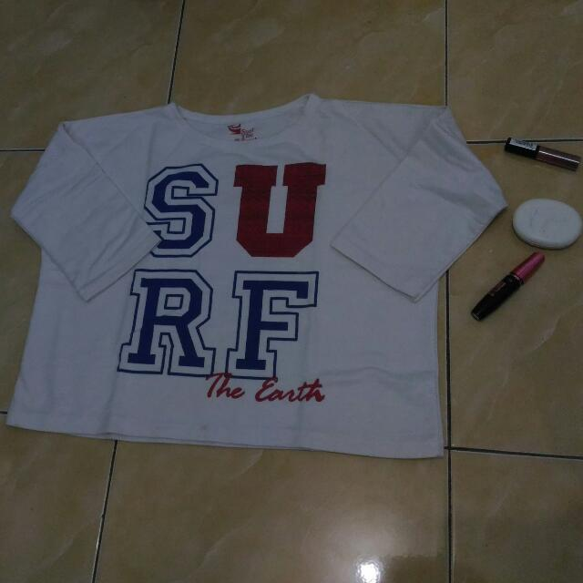 Crop Surf White