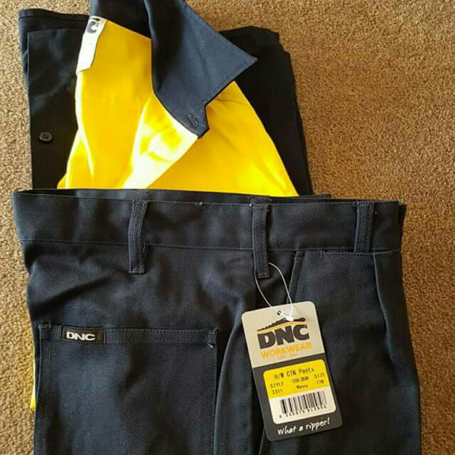 DNC Safety Shirt & Pans