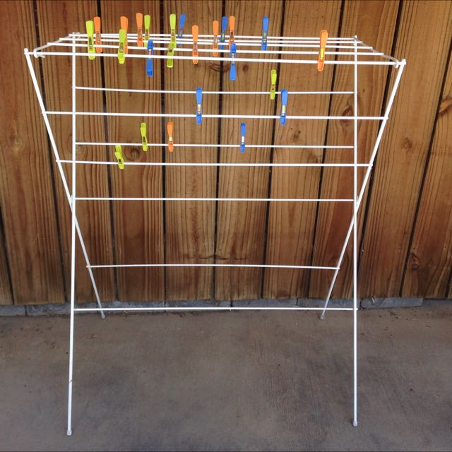 Drying Rack And Kitchen Utensils