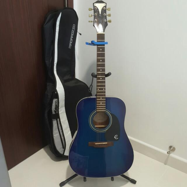 Epiphone Pro-1 Acoustic Guitar With Bag/Capo (Pre Loved)