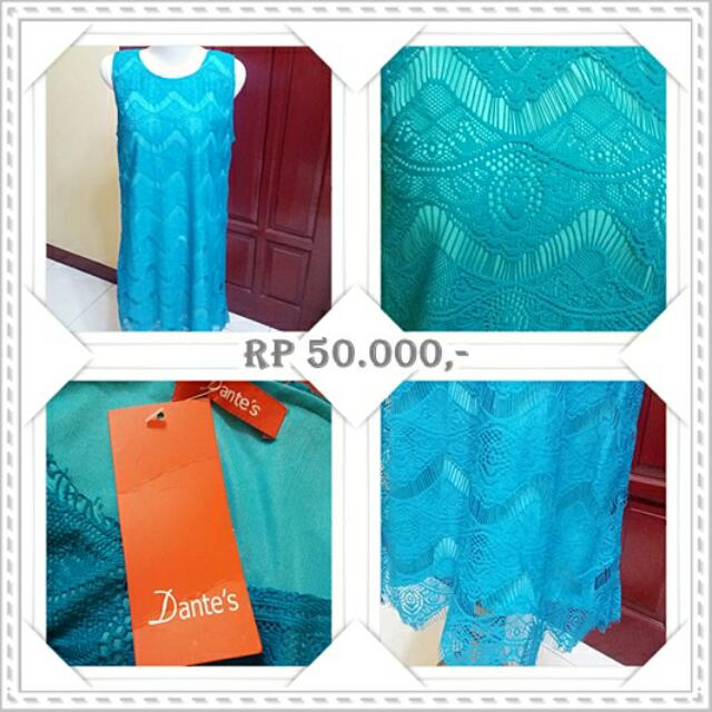 EX OLSHOP Tosca Lace Dress