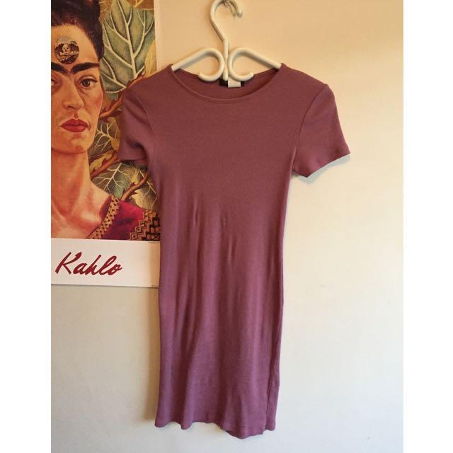 Fuschia Body Con Dress