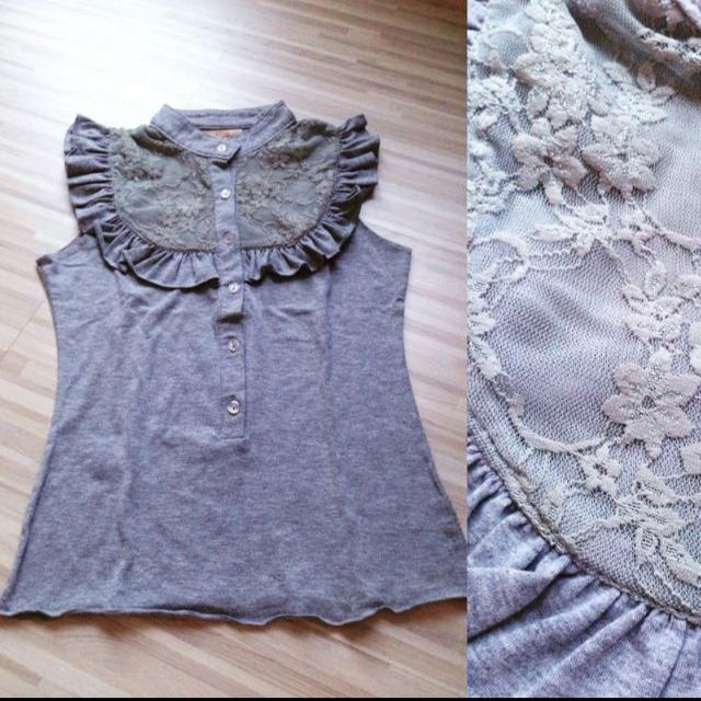 Grey Top Lace