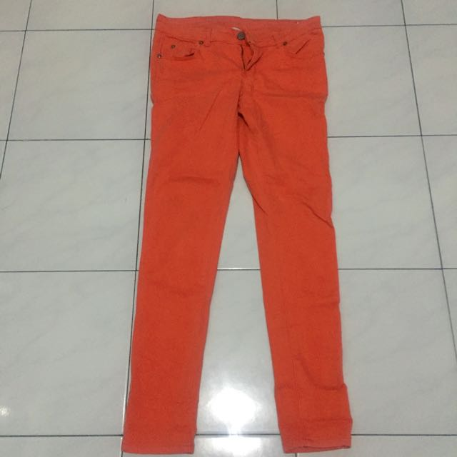 Hammer orange Jeans Woman