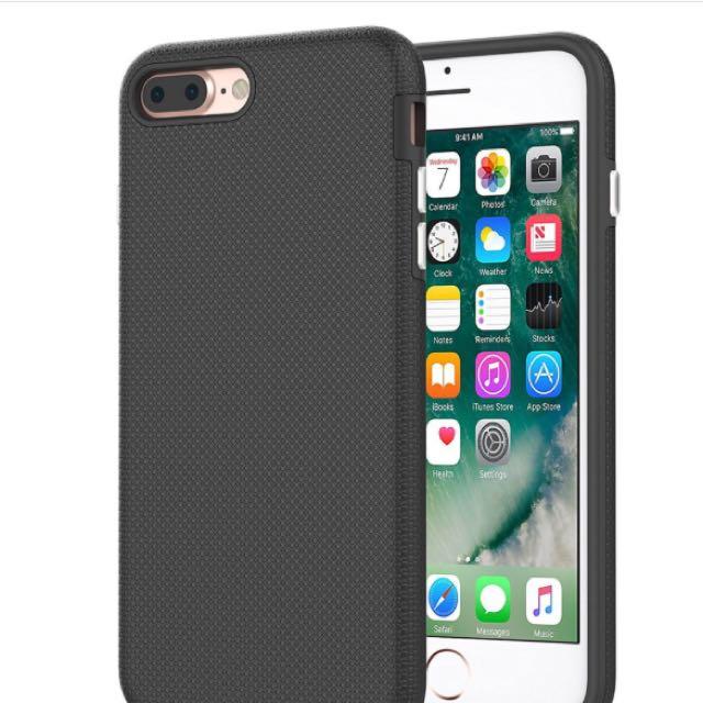 iPhone 7/7 Plus Armor Defender Premium Texture Case