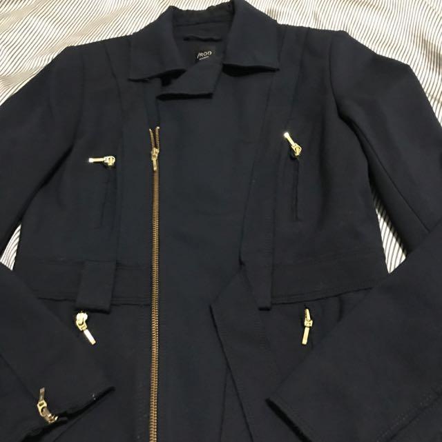 IROO深藍色外套