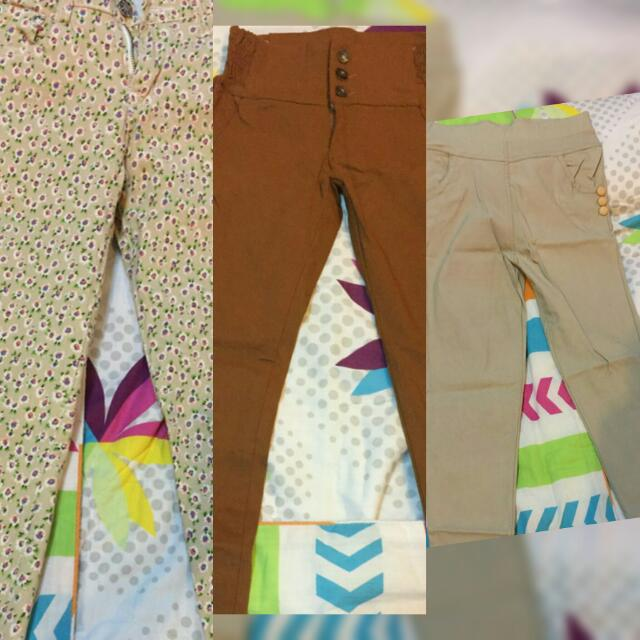 3 For 500 Jegging Pants!