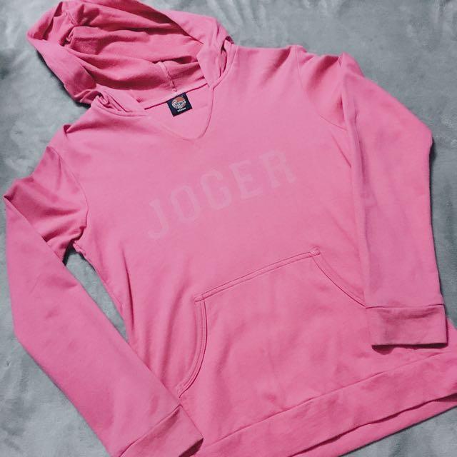 Joger Pink Hoodie