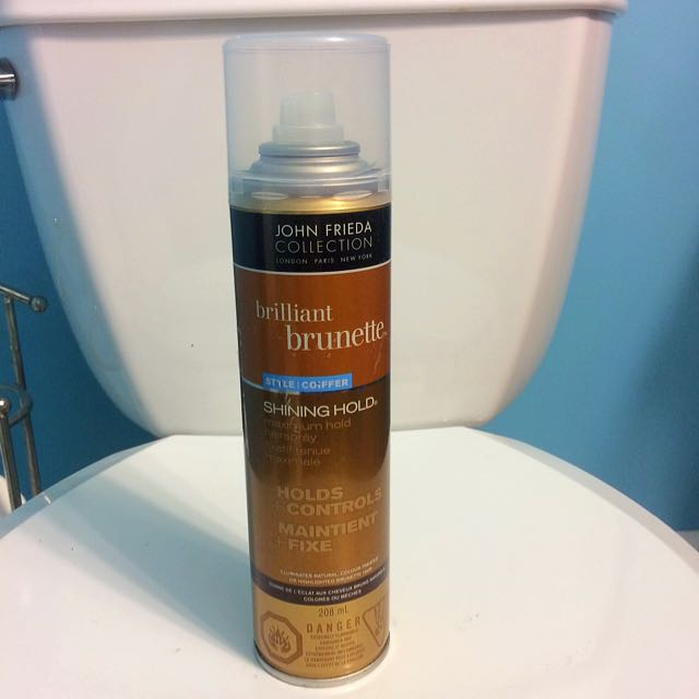 John Frieda Collection - Brilliant Brunette Maximum Hold Hairspray