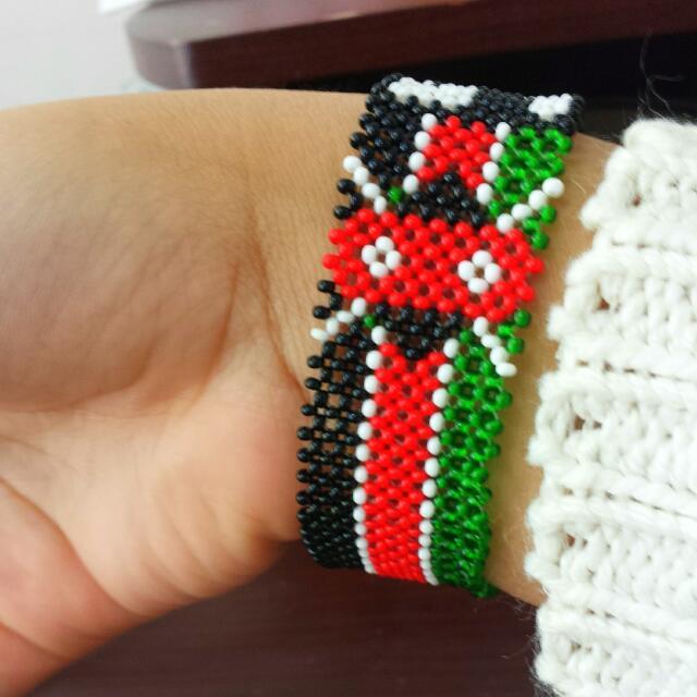 Kenyan Shambala  (Bracelet )