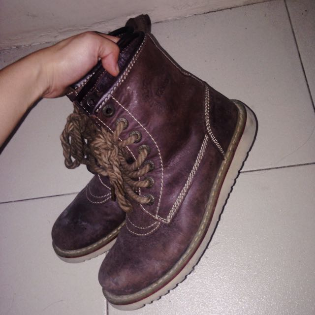Kickers Brown Boots
