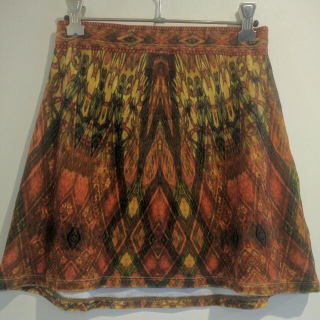Liberated Heart Velvet Skirt