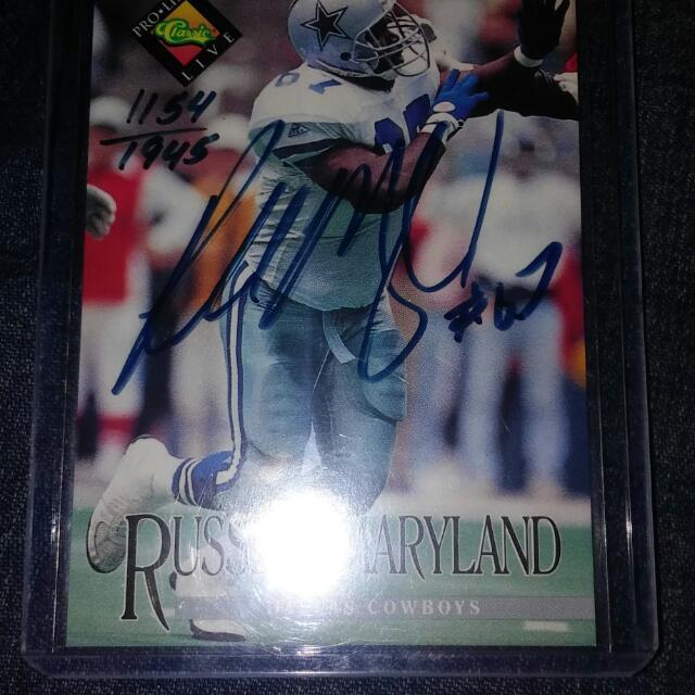 Maryland Autograph Card