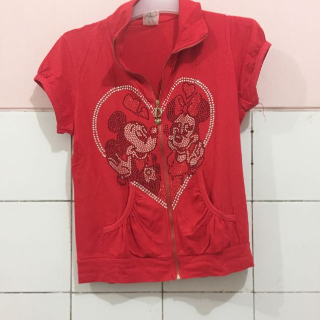 Mickey Zipper Shirt