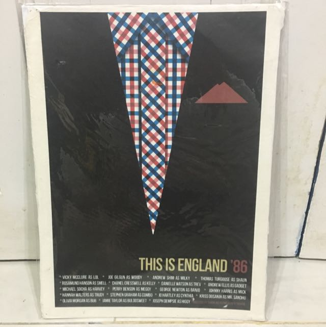 "Minimalist Movie Poster ""This Is England"" Canvas"
