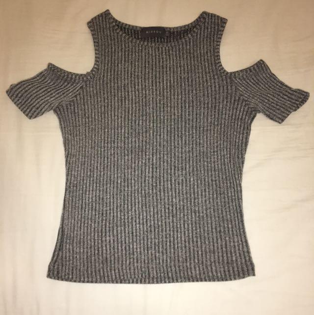 Mirrou Off-Shoulder Top, XS (fits size 6-8)