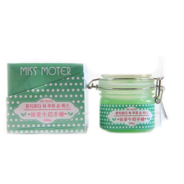 Miss Moter Hand Wax Green Tea Original Murah Miss Motter